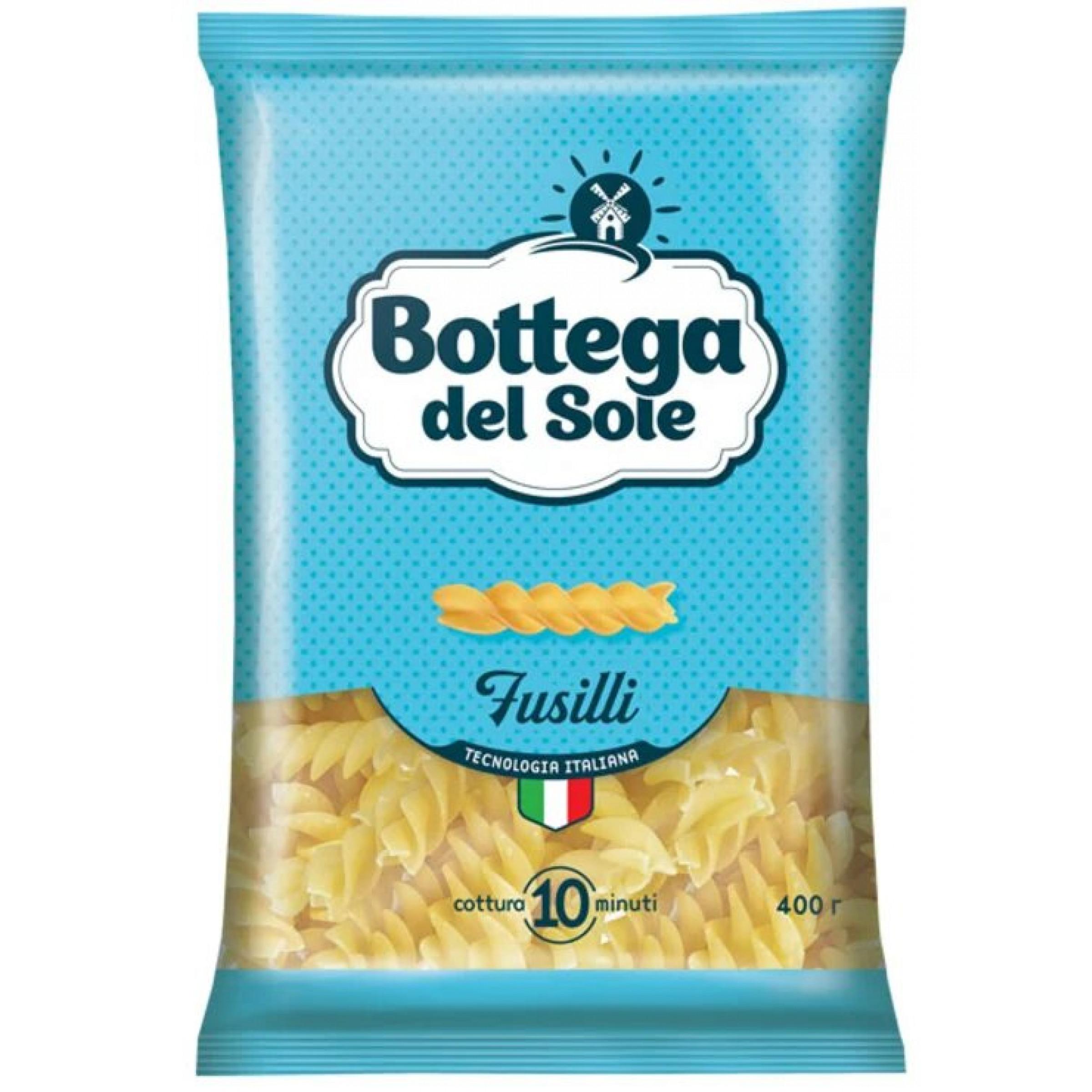 Макаронные изделия Bottega del Sole Спирали, 400 гр