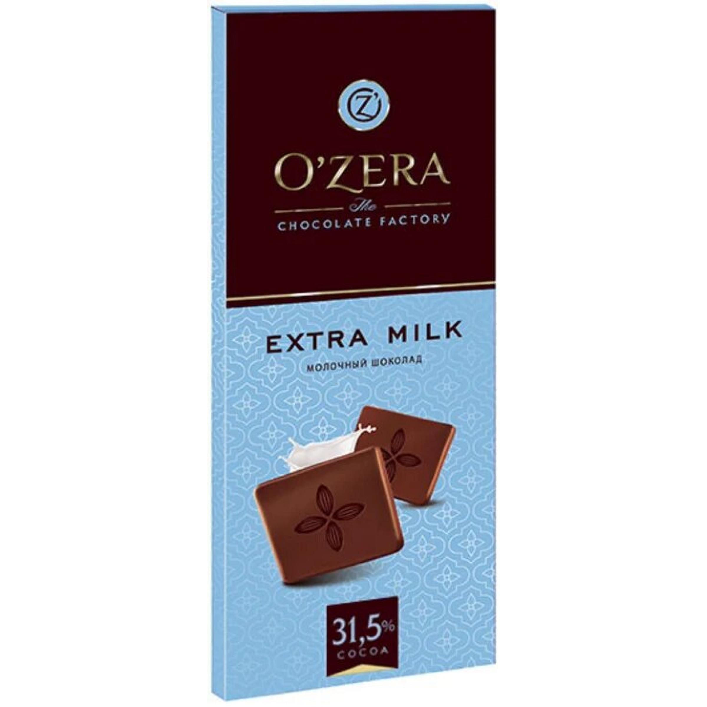 "Шоколад O""Zera Extra milk молочный, 90 гр"