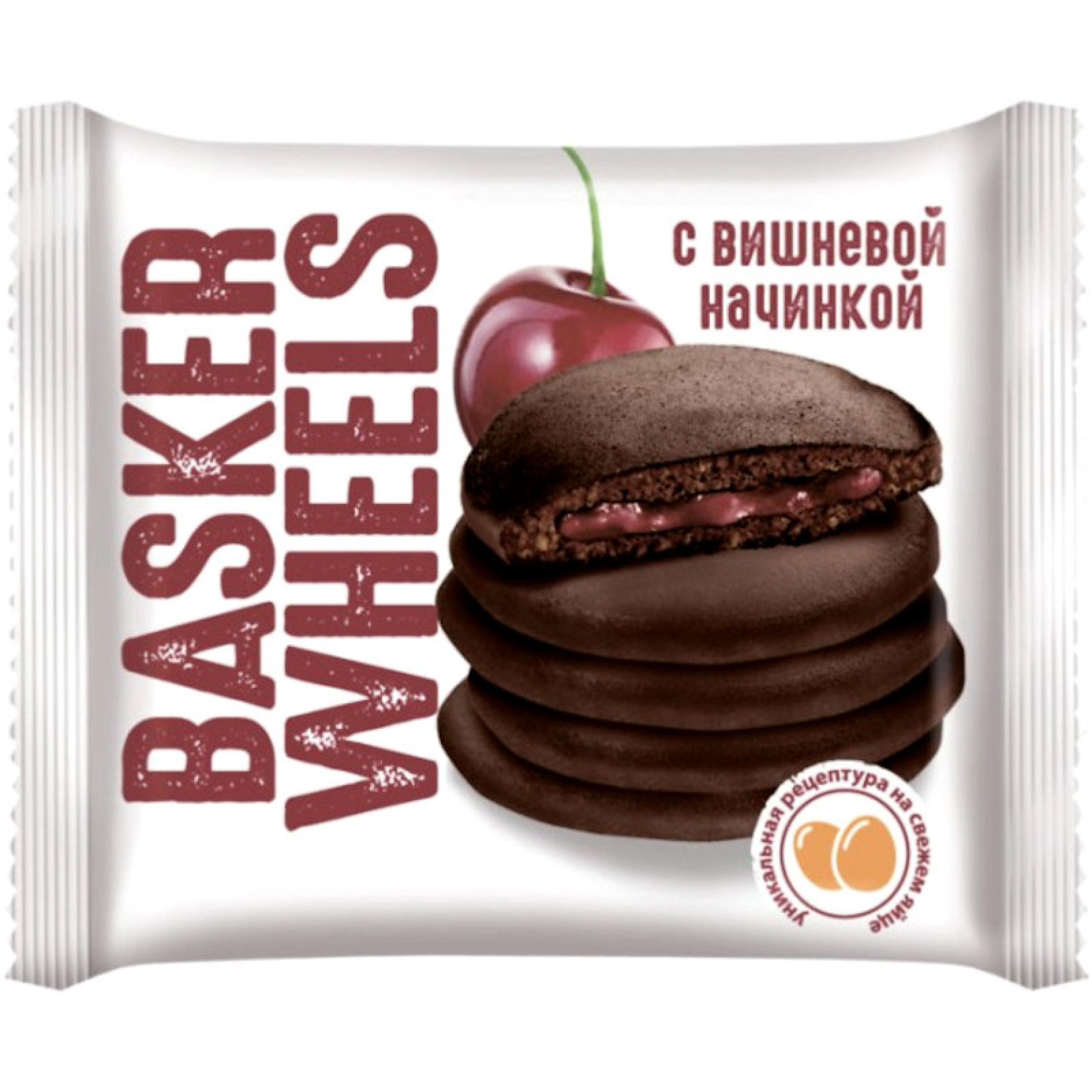 Панкейк BASKERWEELS какао с вишней, 36 гр