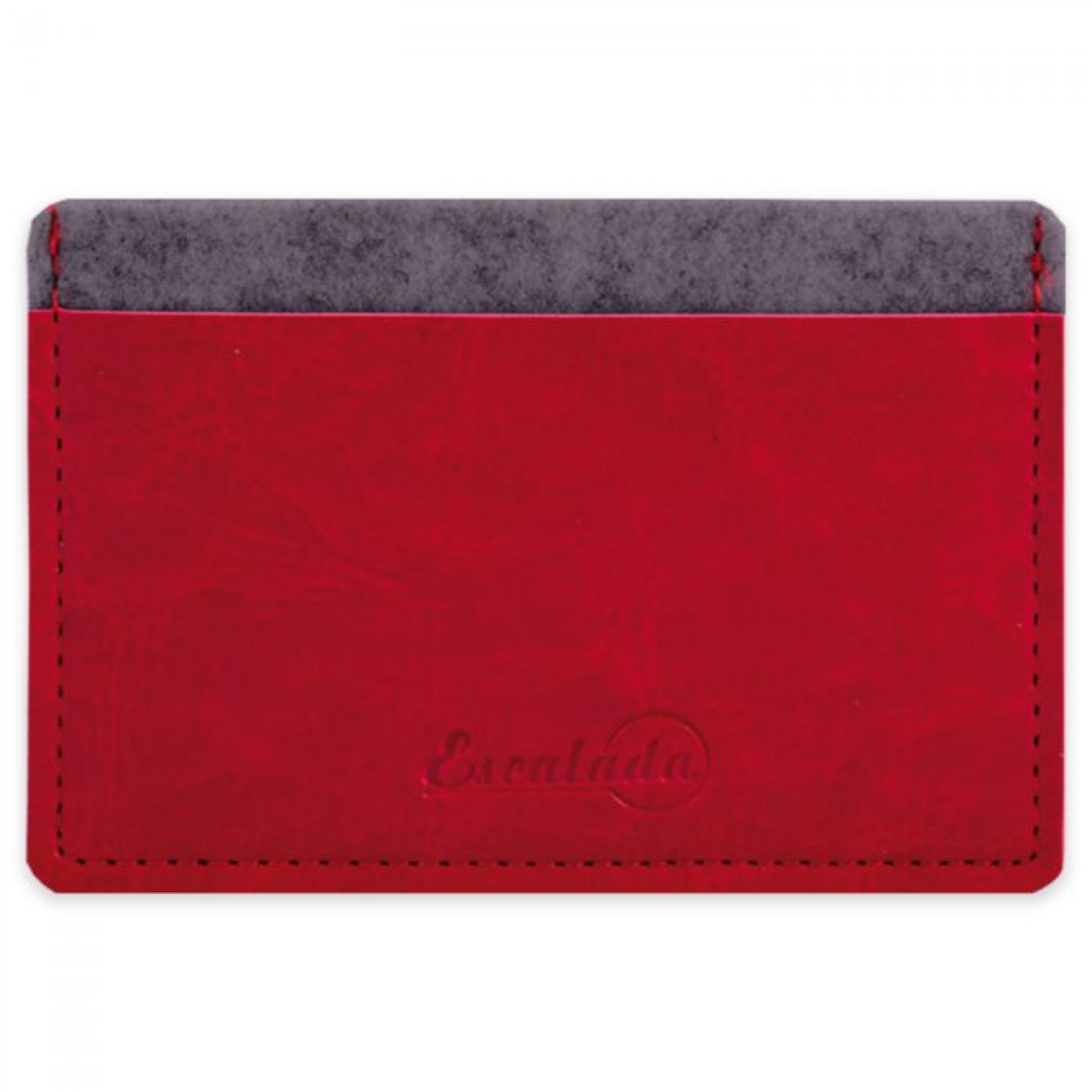 Чехол для пластиковых карт, сариф красный, 95х67 мм