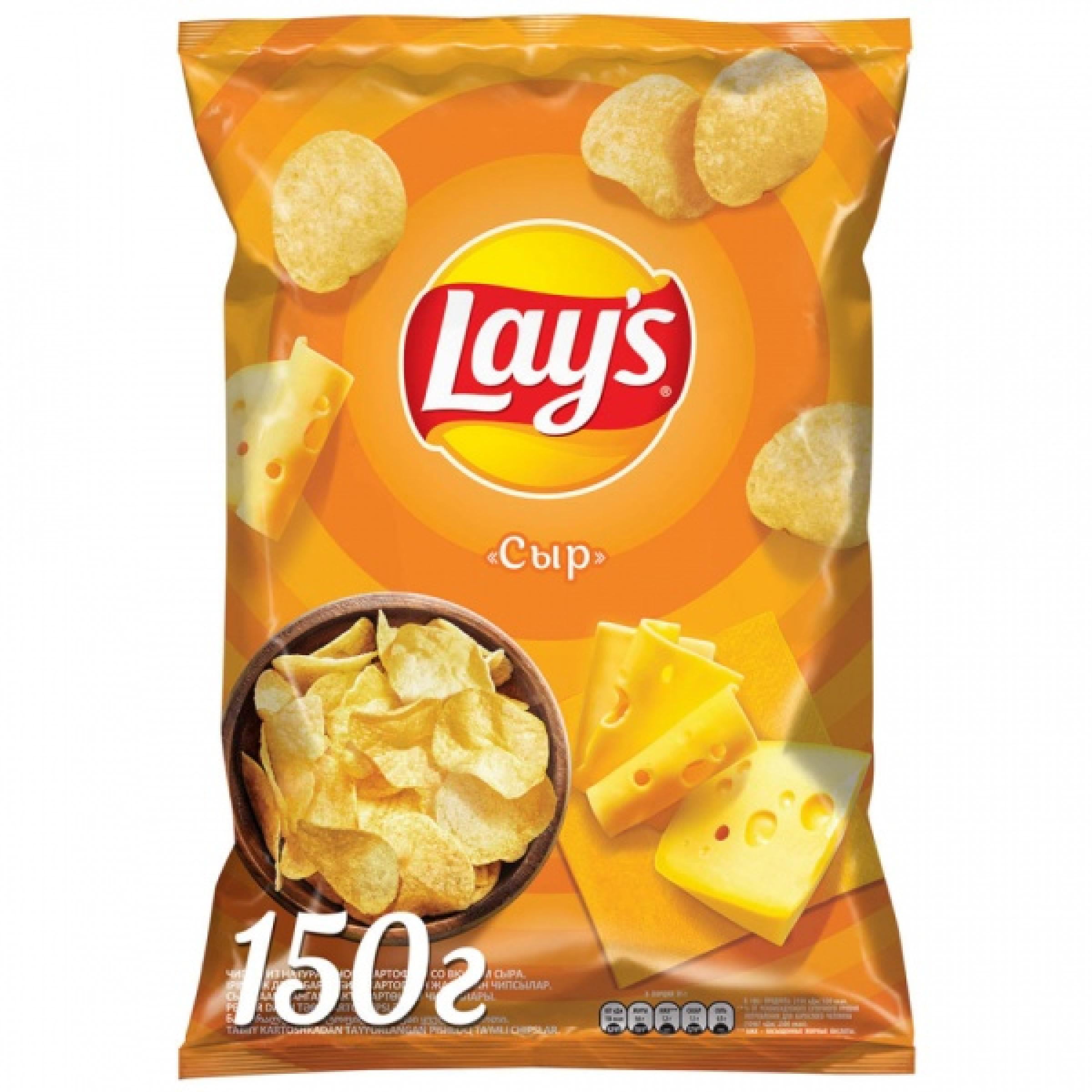 "Чипсы ""Lays"" Сыр, 150 г."