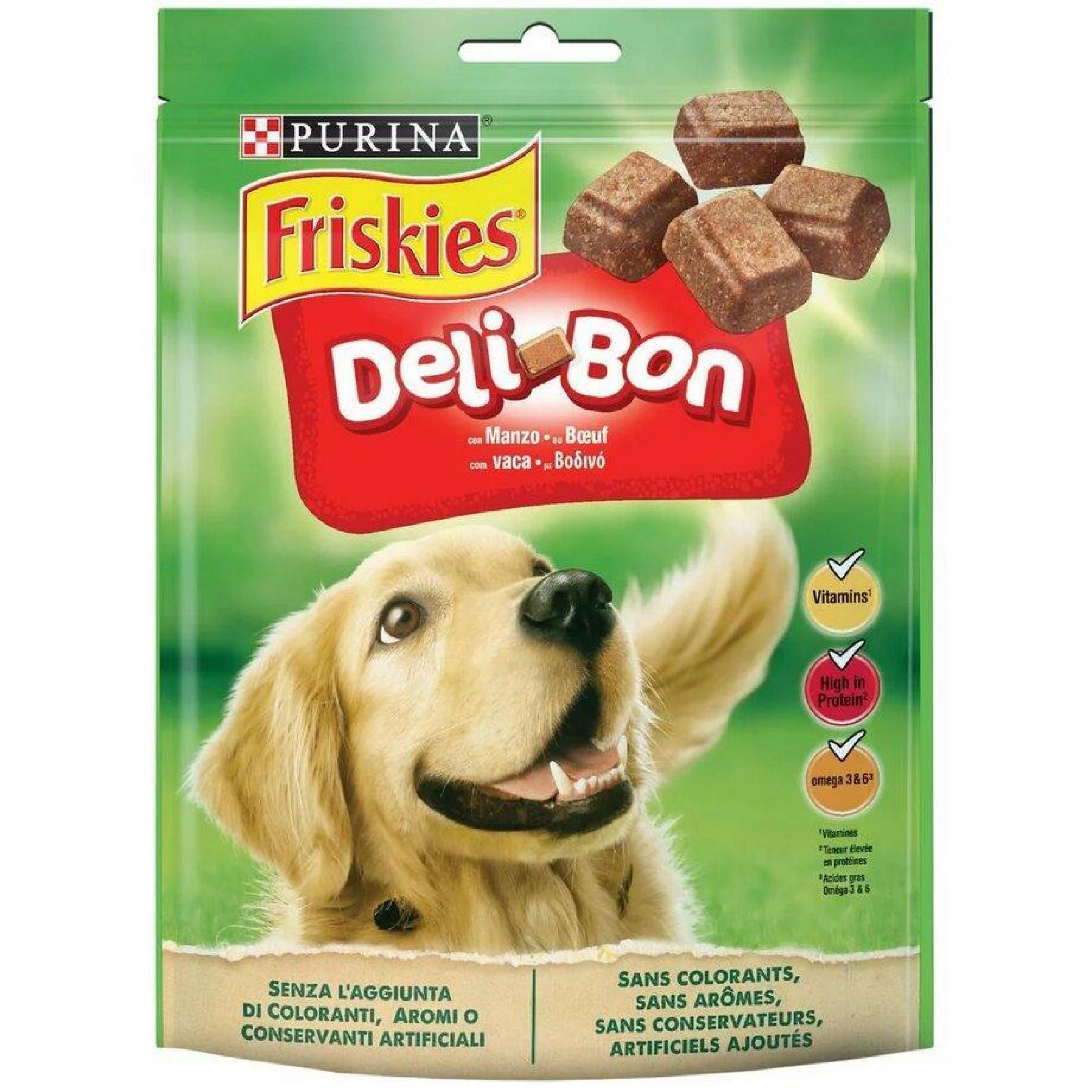 """Лакомство """"Friskies"""" для собак, 130г."""