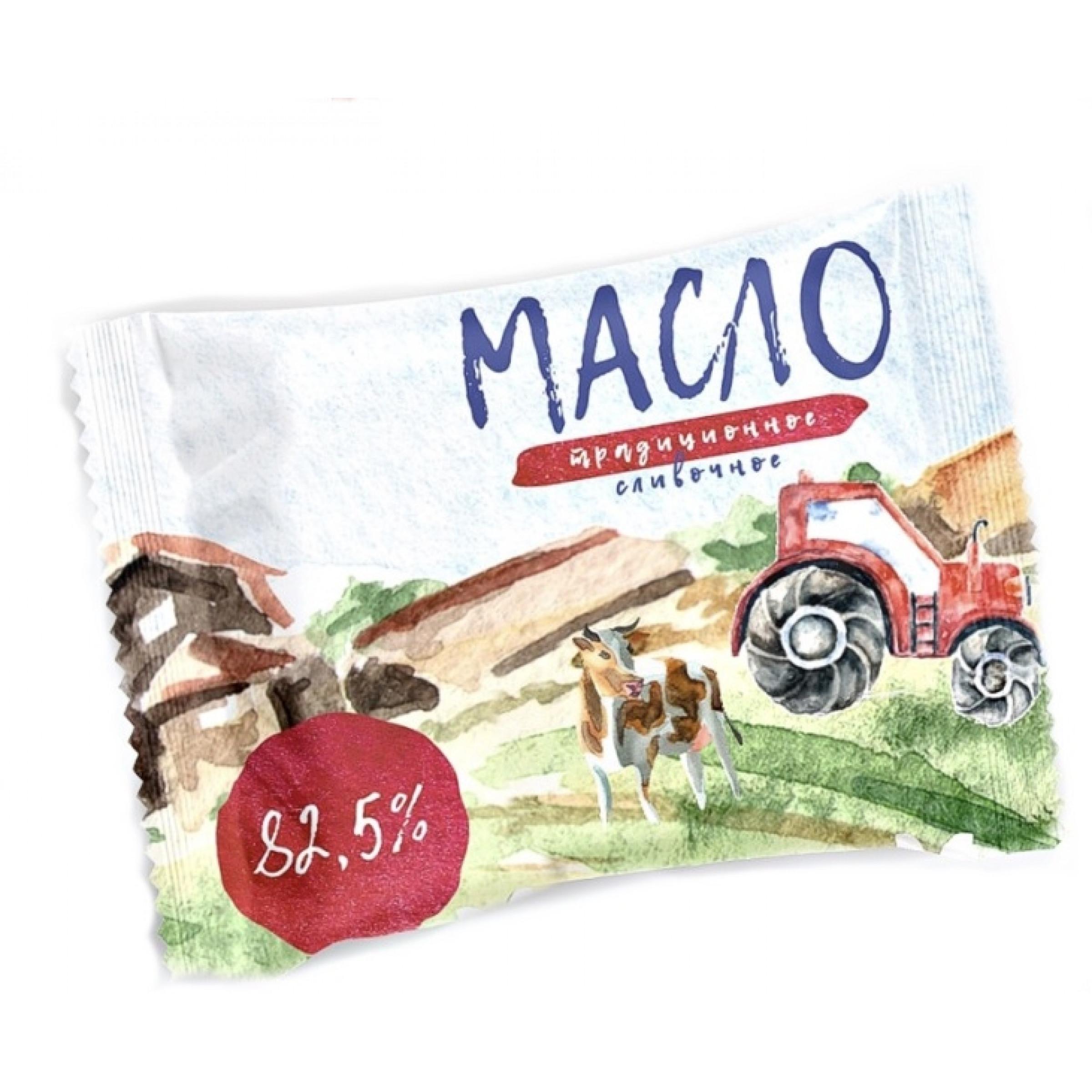 """Масло """"Традиционное"""" 82, 5% сладко-сливочное, 170гр."""