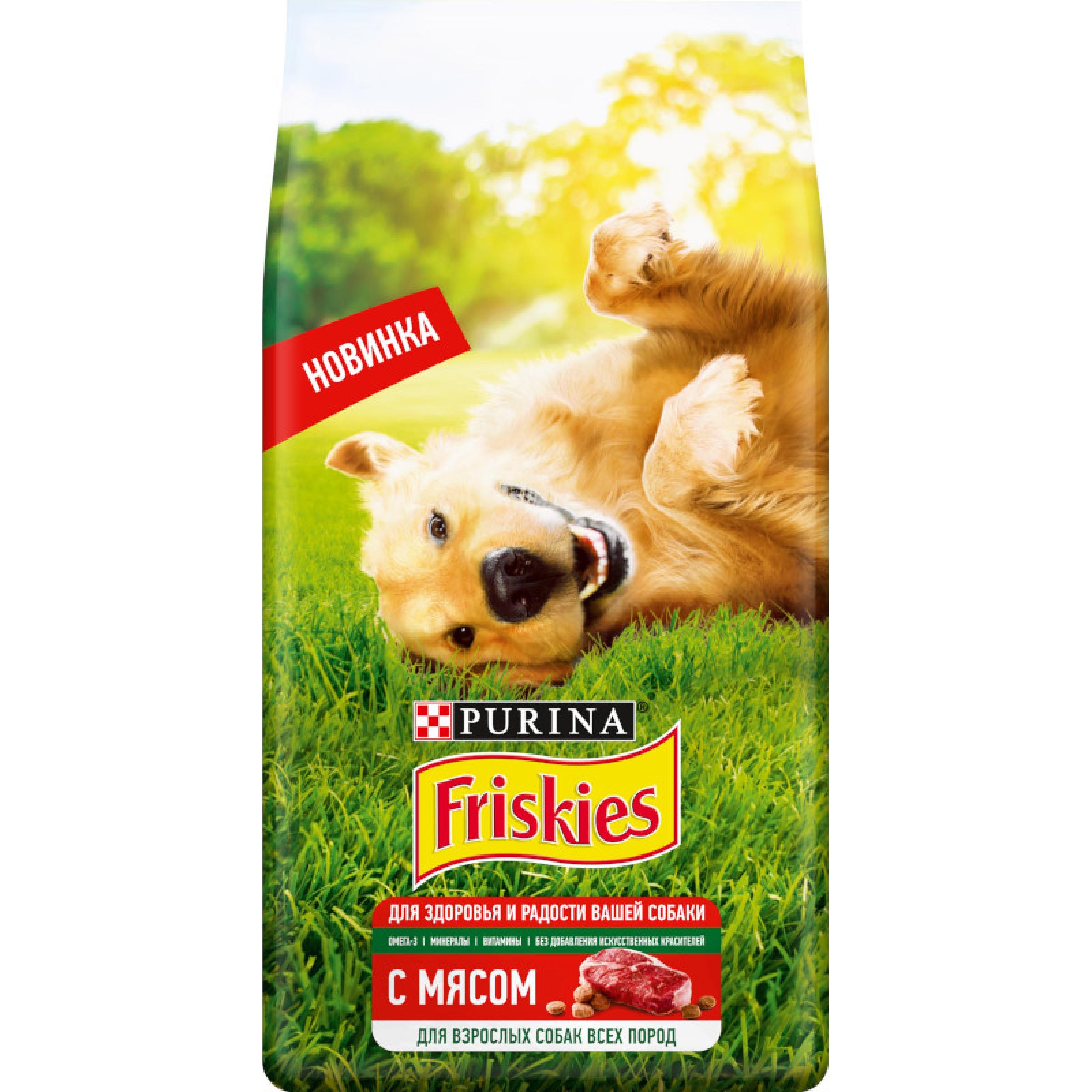 Friskies® для взрослых собак, с мясом, 10 кг