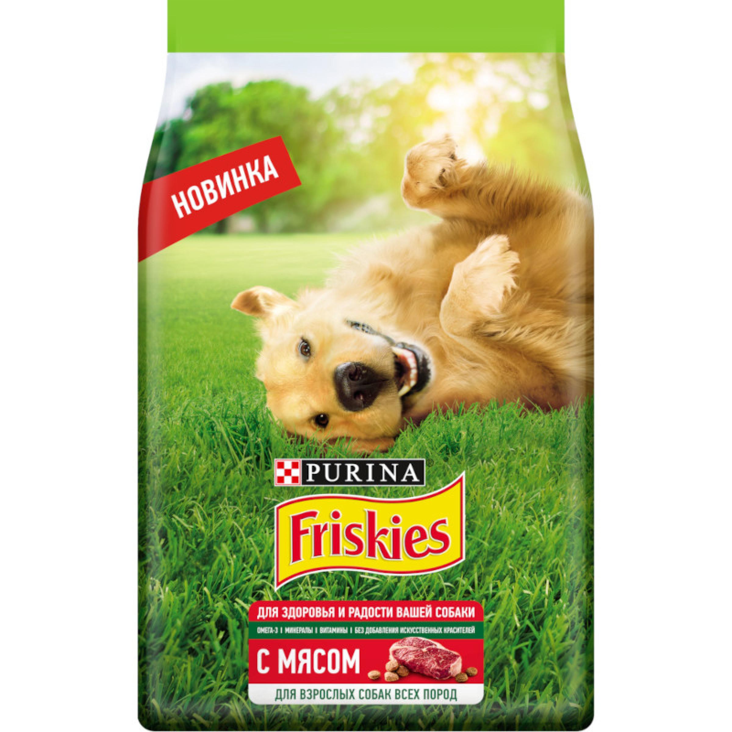Friskies® для взрослых собак, с мясом, 500 г