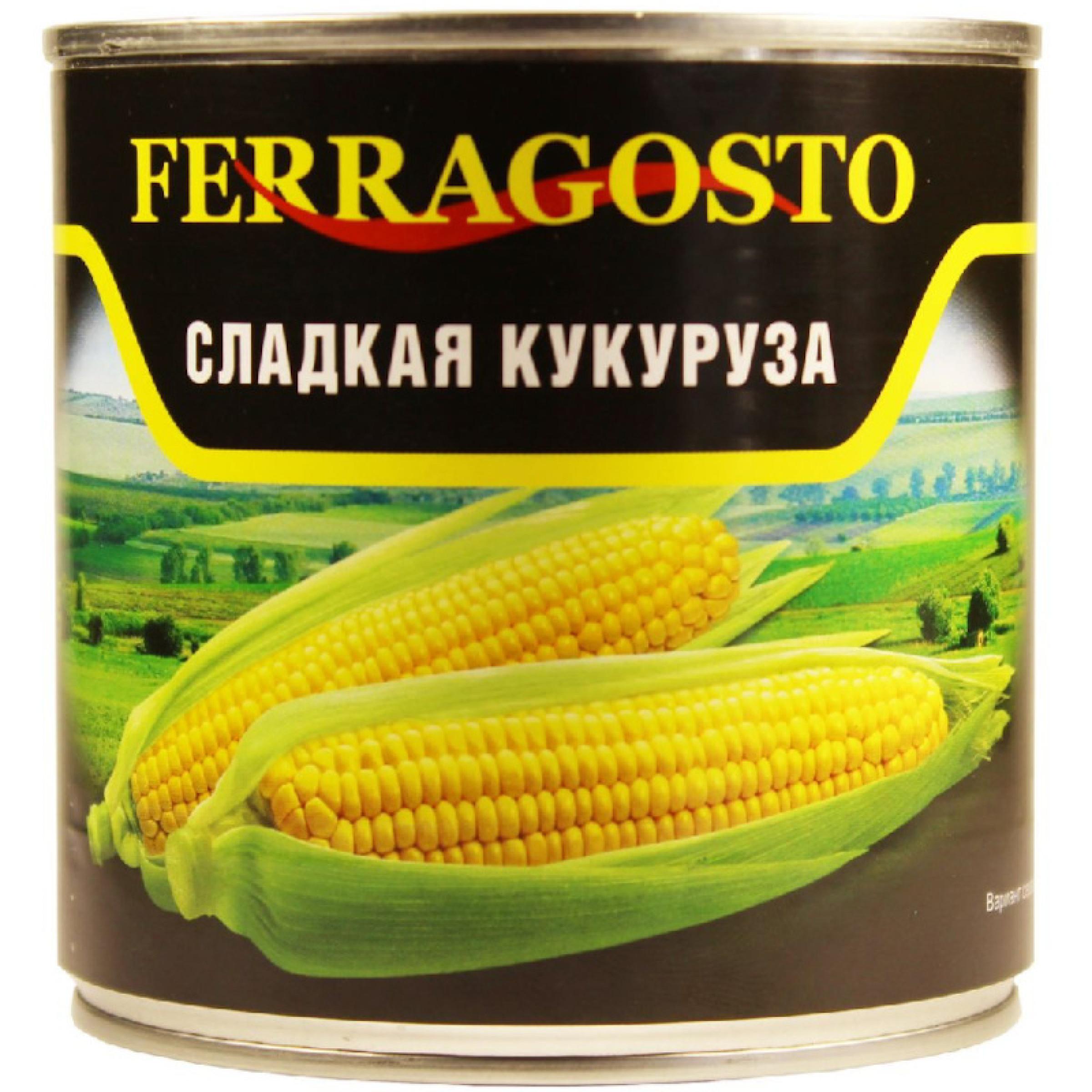 "Кукуруза ""Ferragosto"" сладкая, 425 мл"