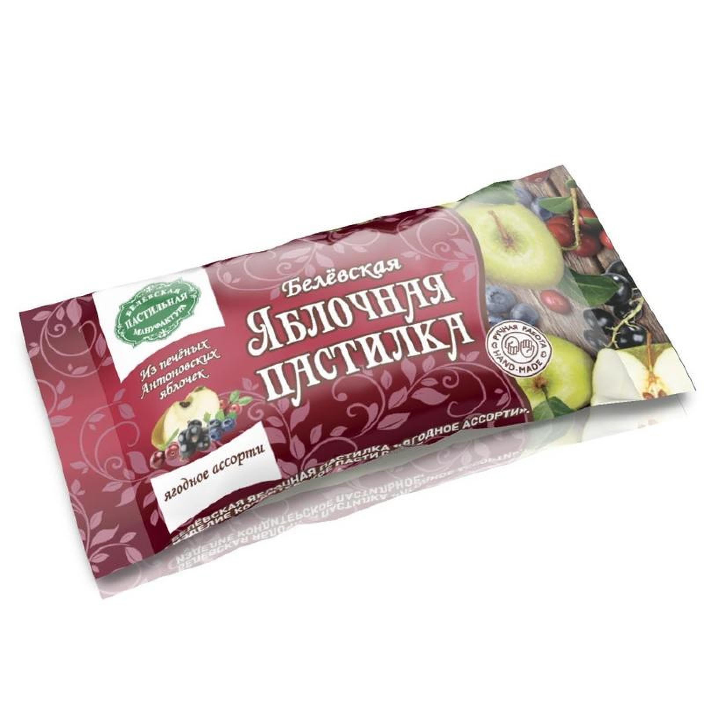 """Пастилки фруктовые """"Белевский продукт"""" ягодное ассорти, 20 г"""