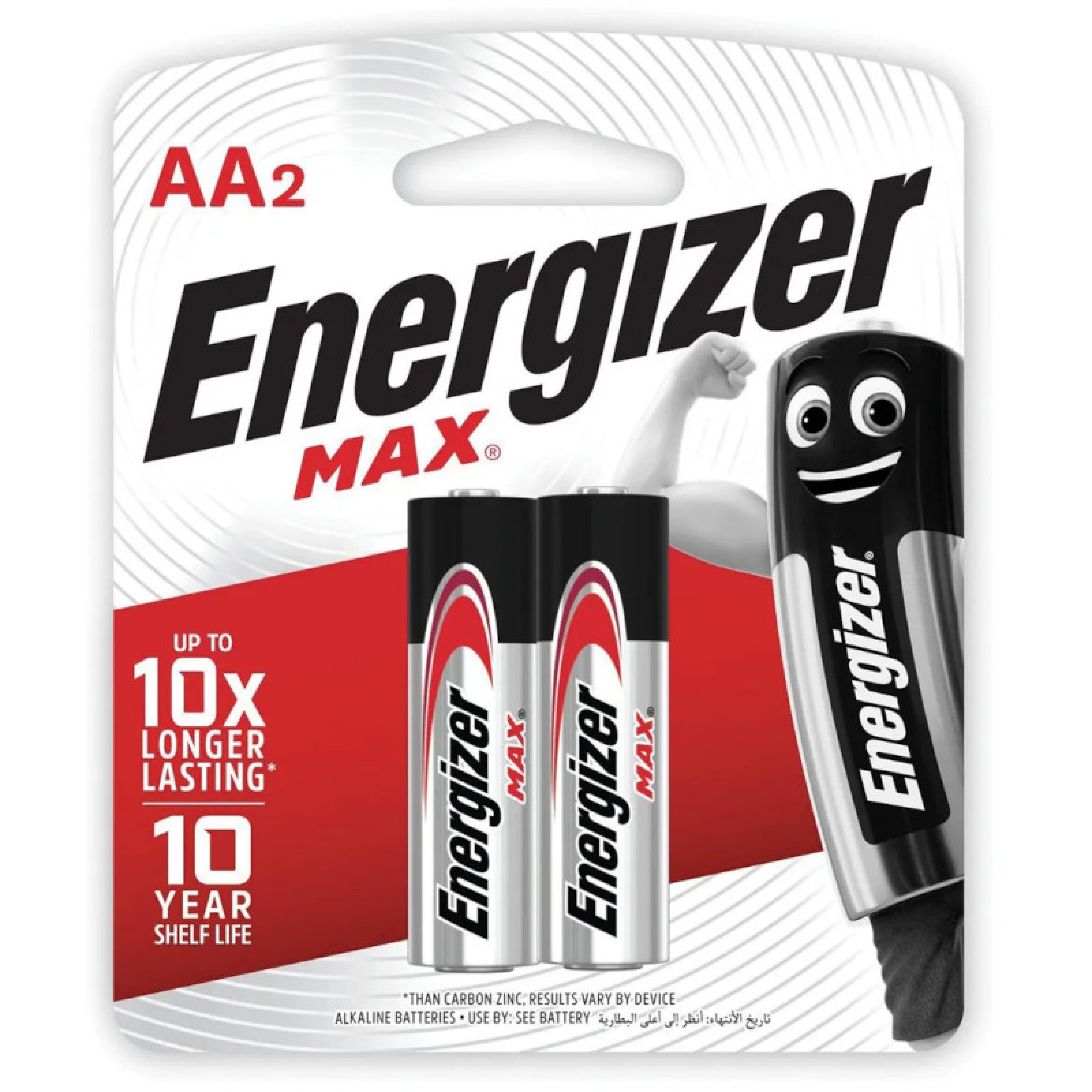 Батарейки Energizer MAX E91/AA FSB 2 шт.