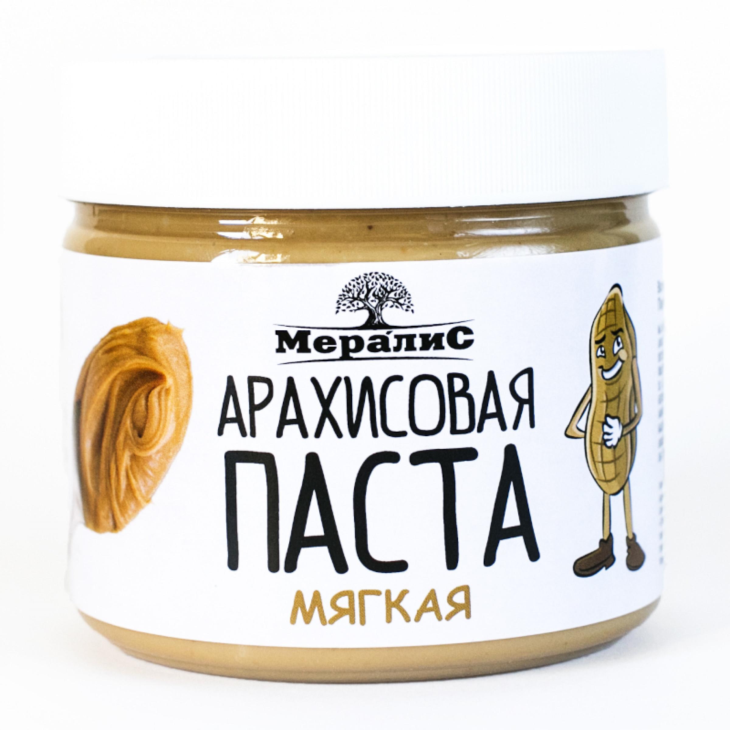 """Арахисовая паста """"Мералис"""" Мягкая, 300 г"""