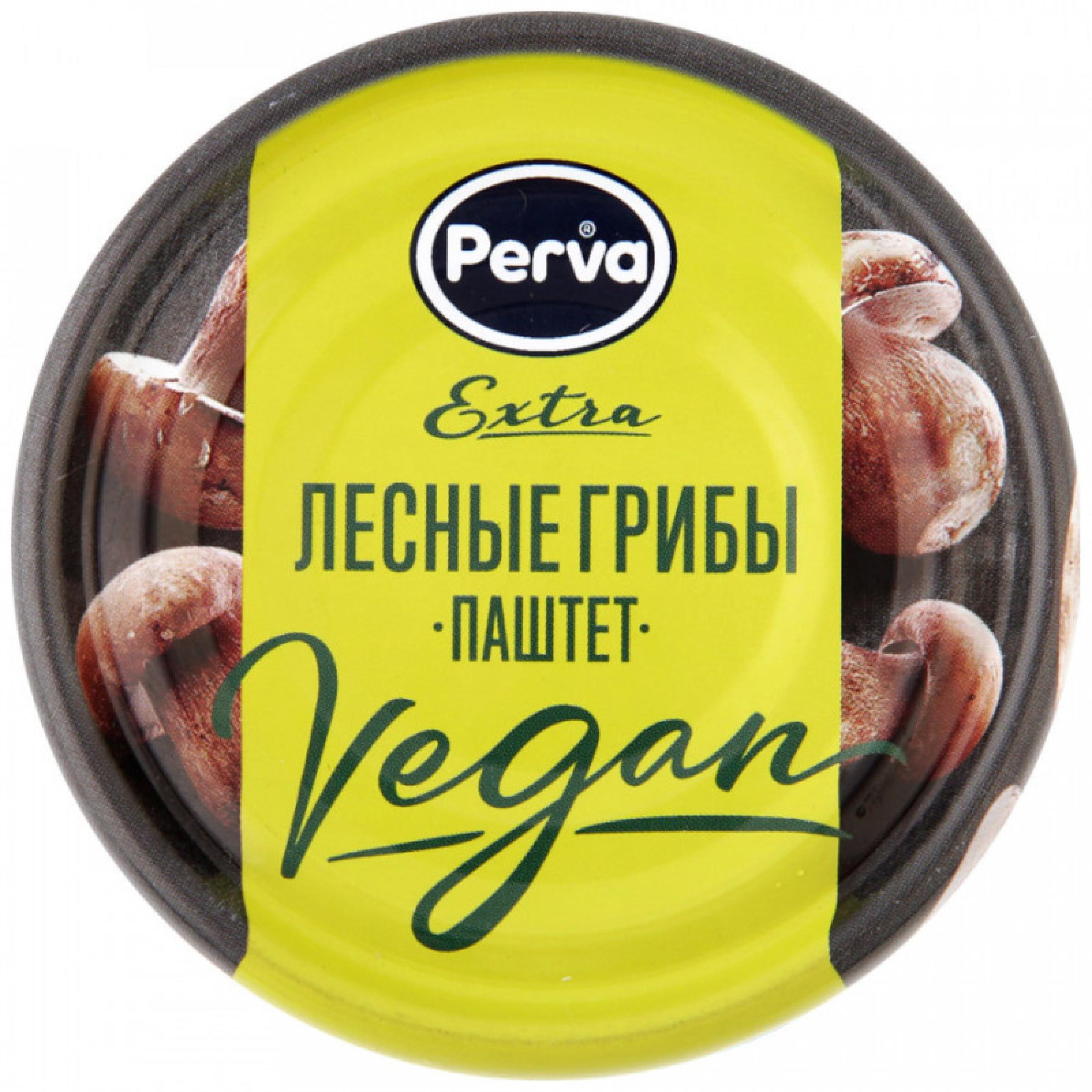 """Паштет """"Perva"""" Extra Веган с лесными грибами, 100 г"""