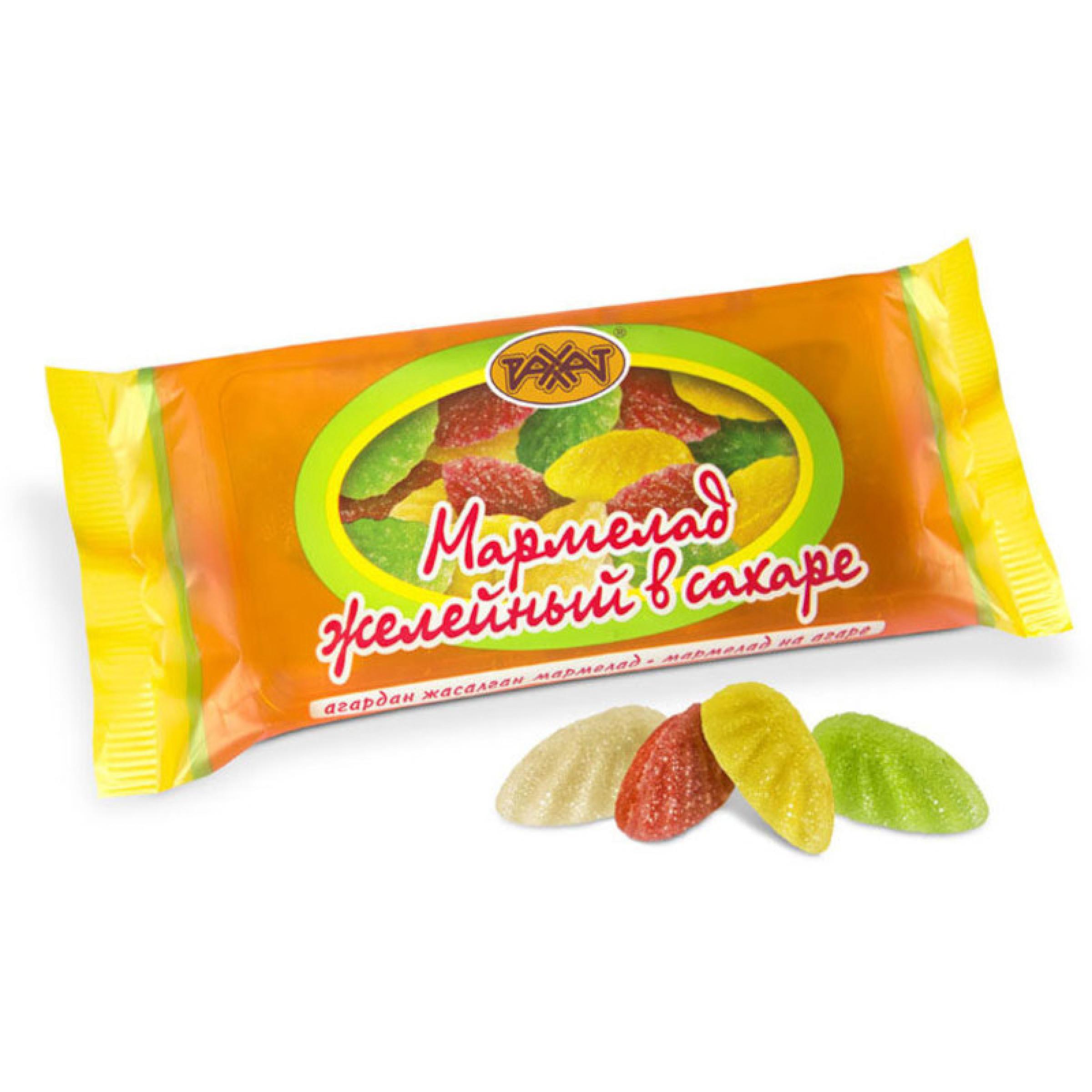 Мармелад желейный в сахаре Рахат, 250 г