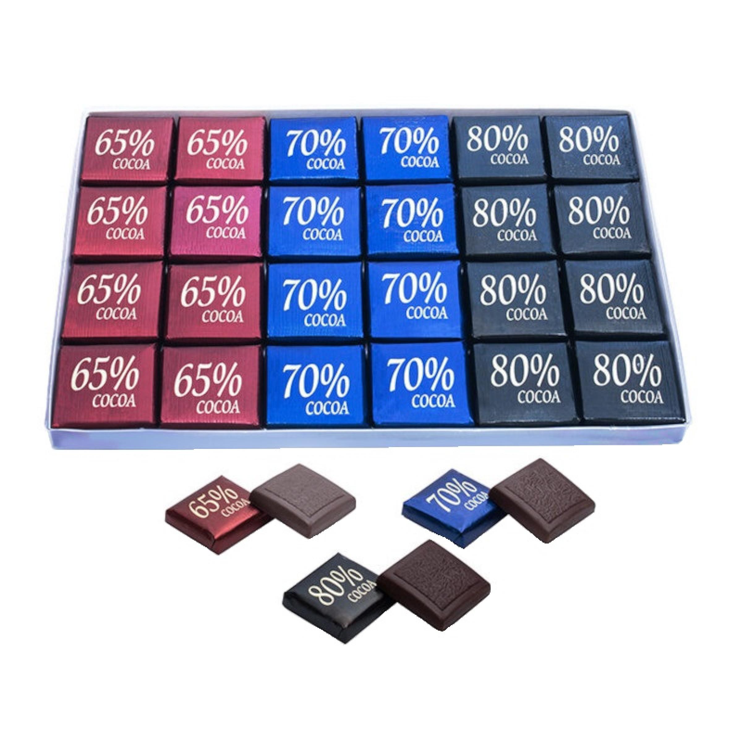 Шоколад Рахат 65%, 70%, 80%, 128 г