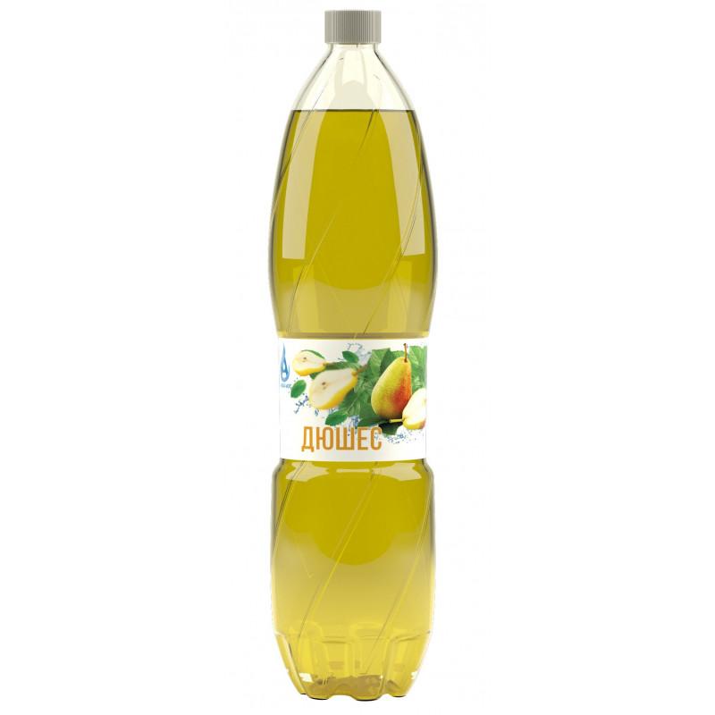 Напиток газированный ДЮШЕС с натуральным соком, безалкогольный Аква-Юг, 1, 5 л