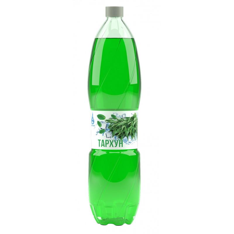 Напиток газированный ТАРХУН с натуральным соком, безалкогольный Аква-Юг, 1, 5л