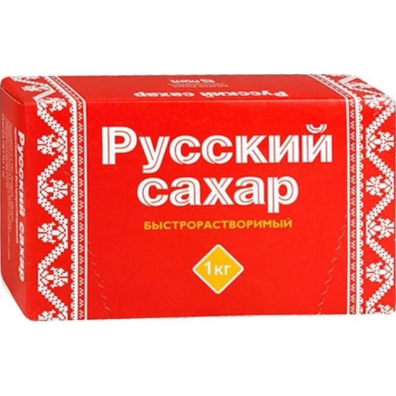 Сахар-рафинад Русагро Русский прессованный ТУ, 1 кг